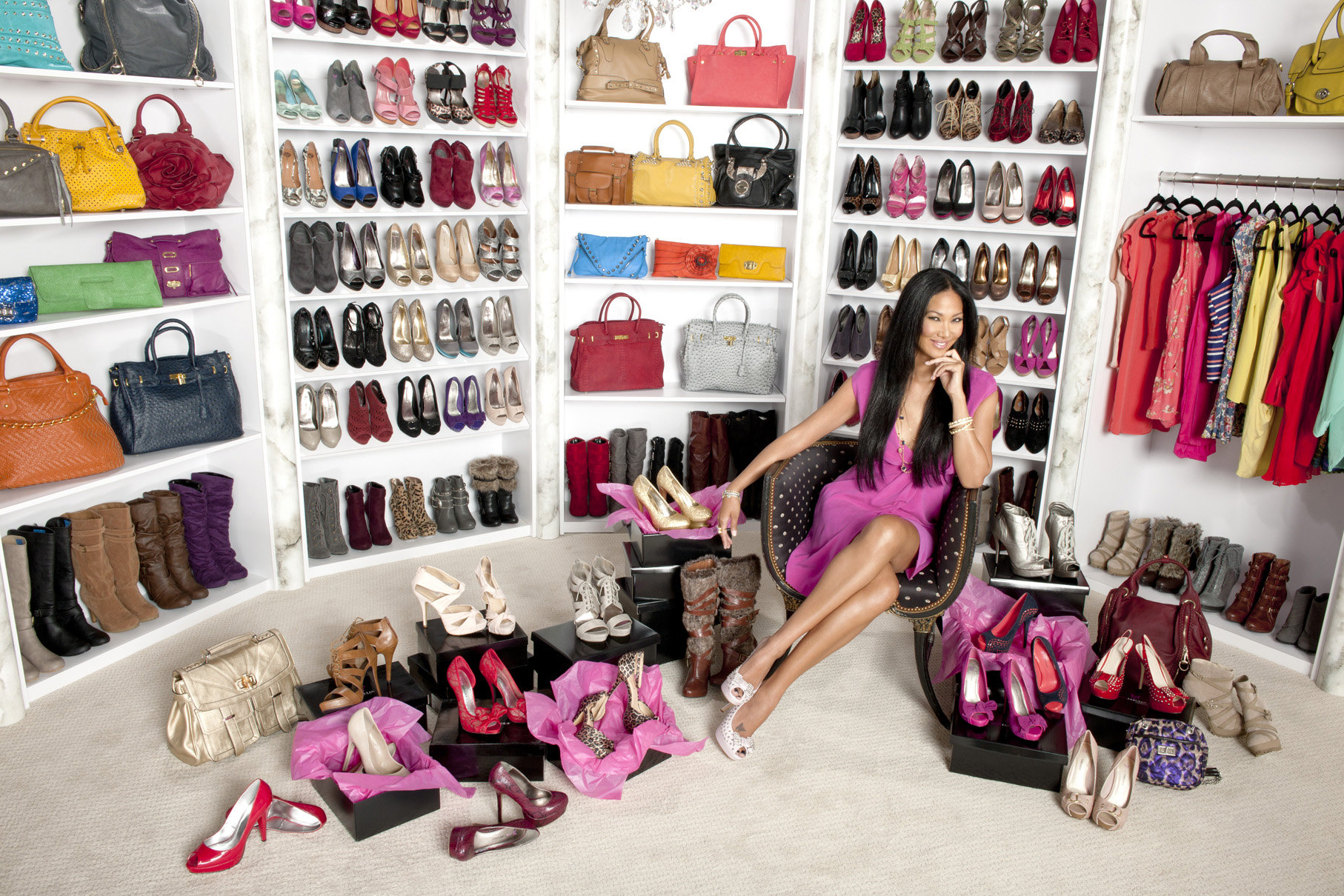 Kimora Lee Simmons is a fashion model, author, and former president