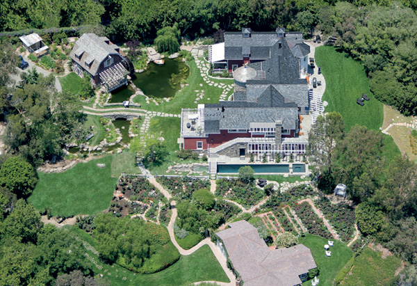 barbra streisand 100 million dollar homes