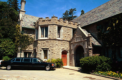 Playboy Mansion Entrance