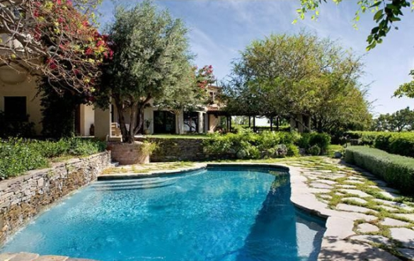Meg Ryan Celebrity House In Bel Air For Sale
