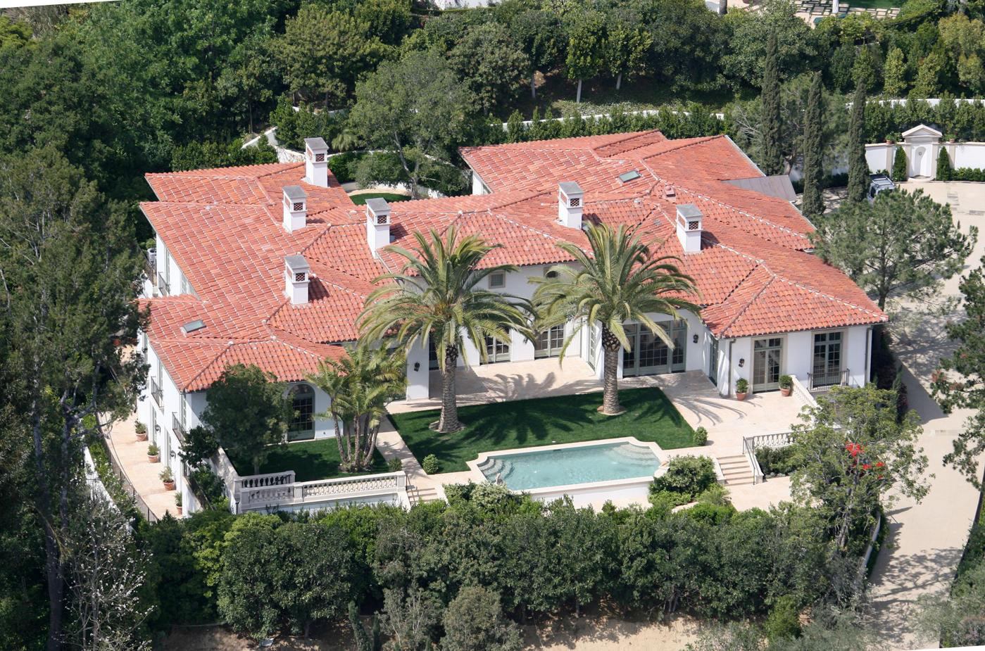 Victoria And David Beckham Mansion On Hollywood Tours - Los angeles map to the stars