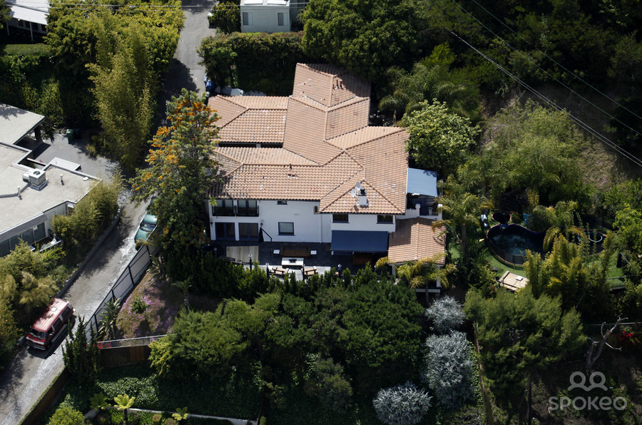 Celebrity Homes Jessica Alba House In Hollywood Hills