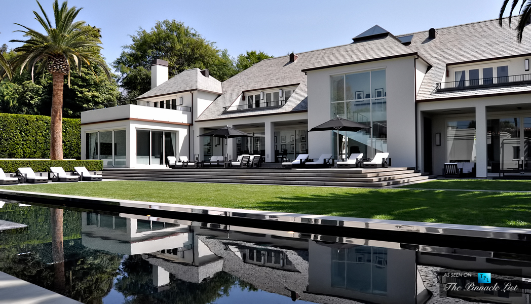 American idol judge simon cowell beverly hills mansion for Famous homes in beverly hills