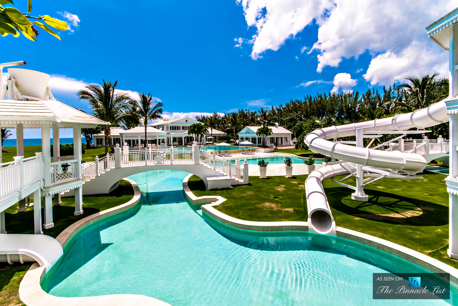 celine dion 39 s custom home with water slide lazy river attractions