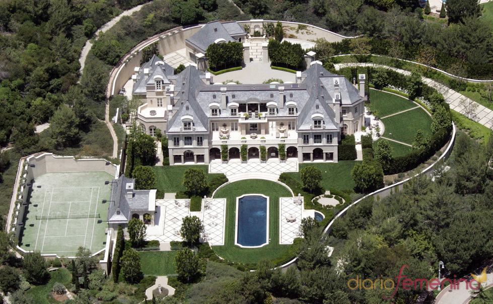 Beverly Park Estates Dream Home Belonging To Denzel Washington