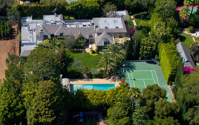 Tour of Beverly Hills and Sunset Blvd - Celebrity Mansions ...