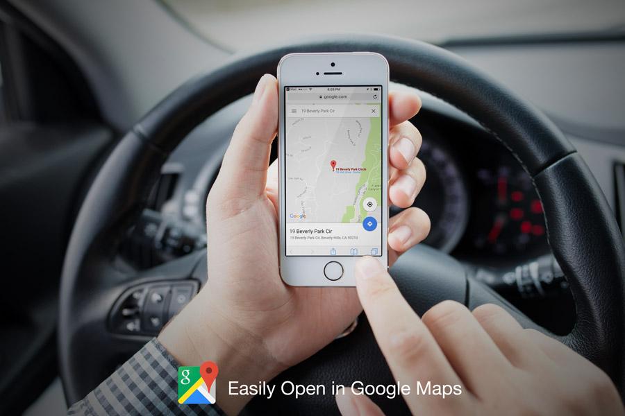 Digital Download Celebrity Homes Map Of Malibu