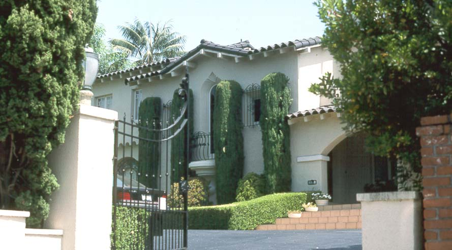 Milton Berle House Final Home Of The Late Comedian Actor