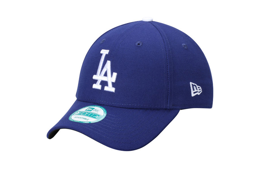 dce72ab9a15 Men s Los Angeles Dodgers New Era Royal Blue MLB Baseball Cap Flex Hat