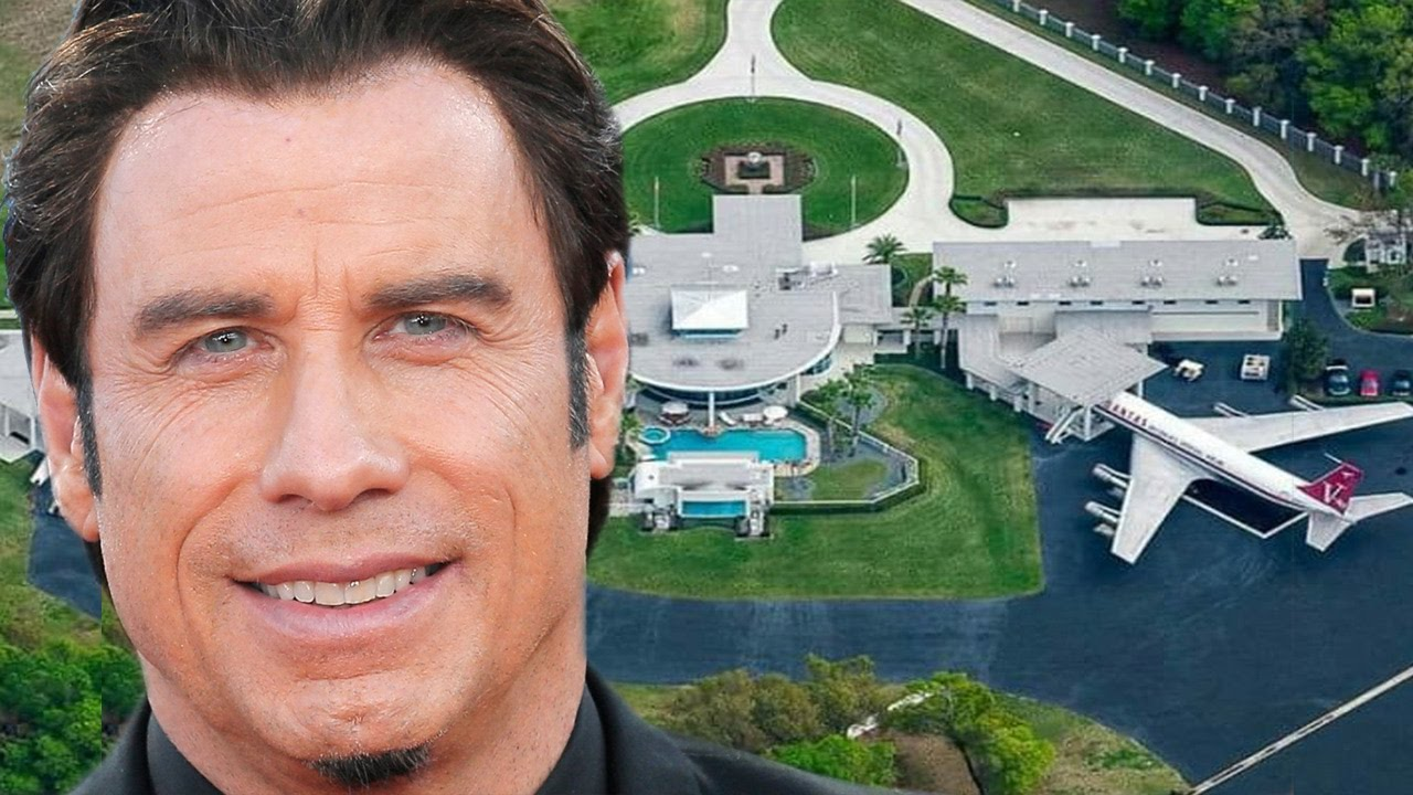 John Travolta Plane and Private Airport Extravaganza