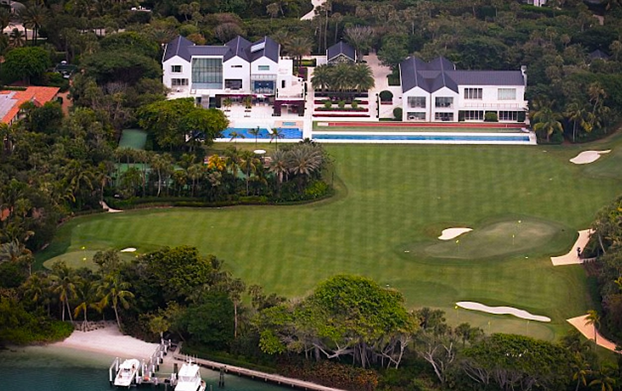 5 former power couples and their mansions celebrity Images of tiger woods house